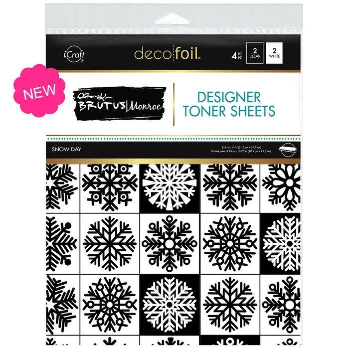 ICraft Deco Foil Brutus Monroe Toner Sheets Snow Day