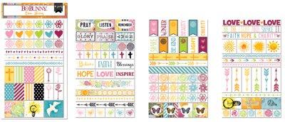 Faith Clear Stickers