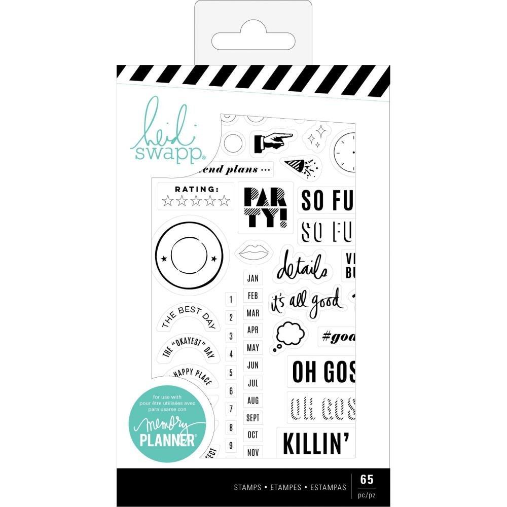 Heidi Swapp Memory Planner Stamp Set