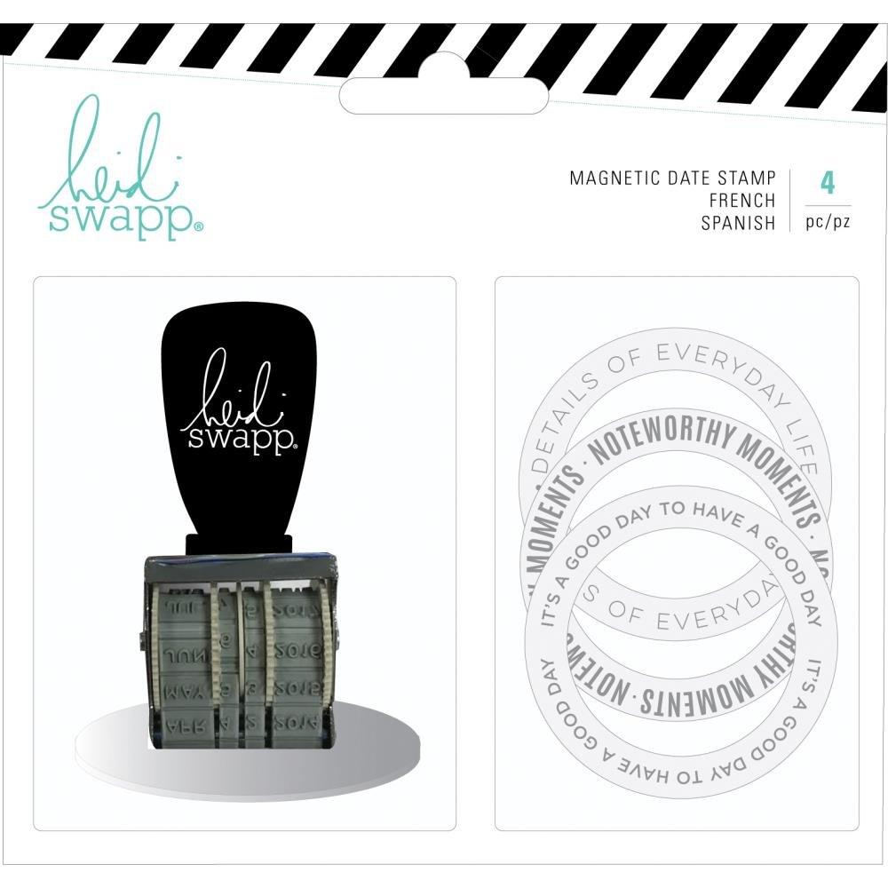 Heidi Swapp Memory Planner Magnetic Date Stamp