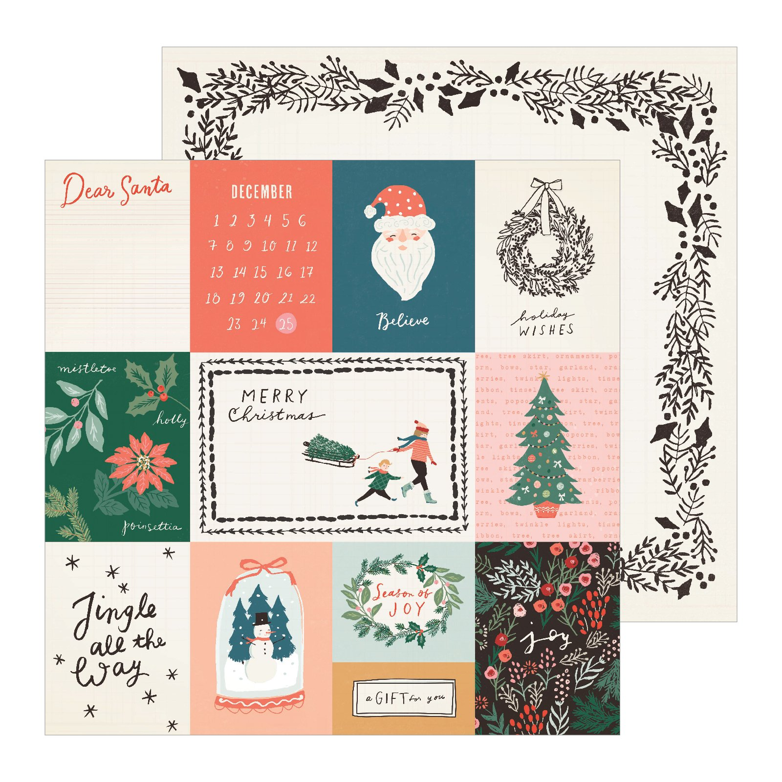 Crate Paper Merry Days Sleigh Ride