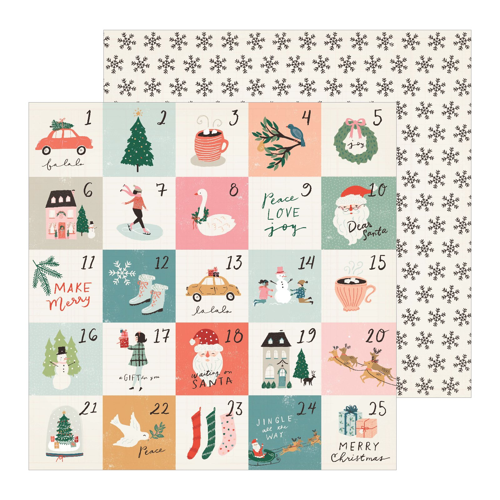 Crate Paper Merry Days Stockings