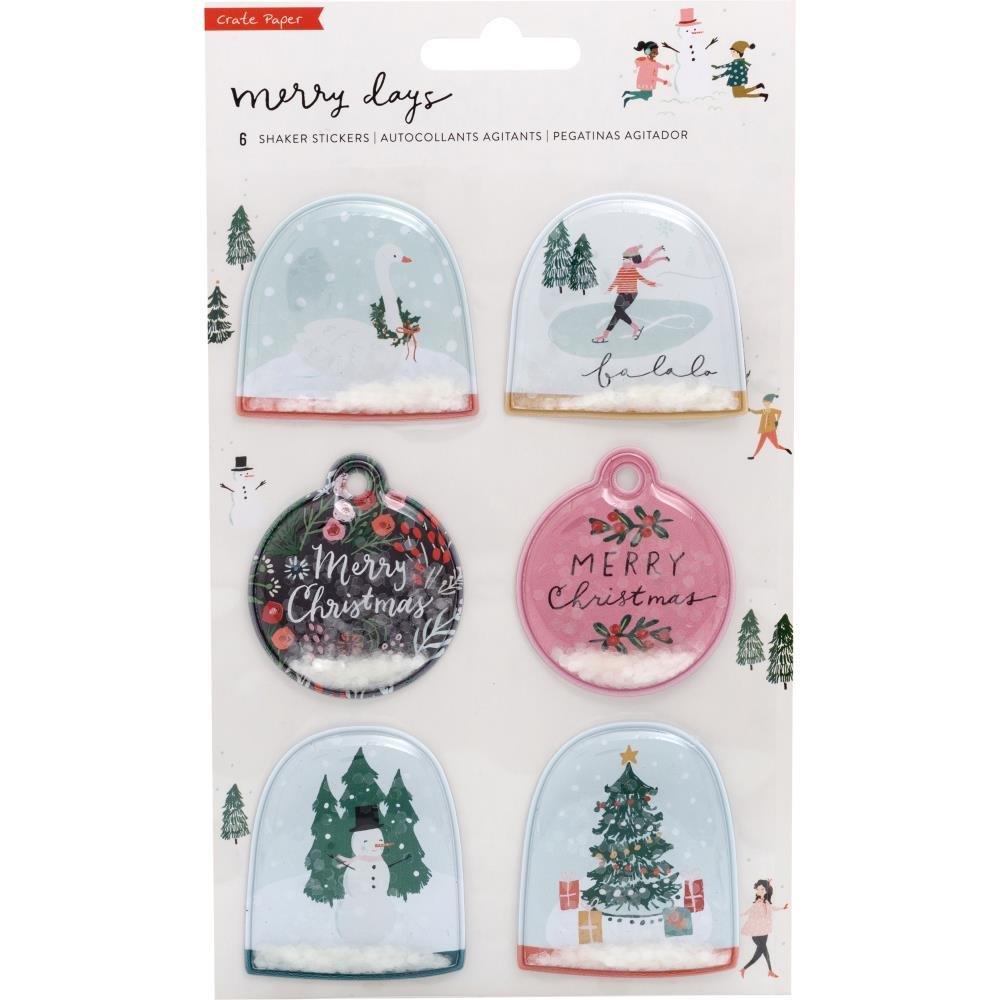 Merry Days Shaker Stickers