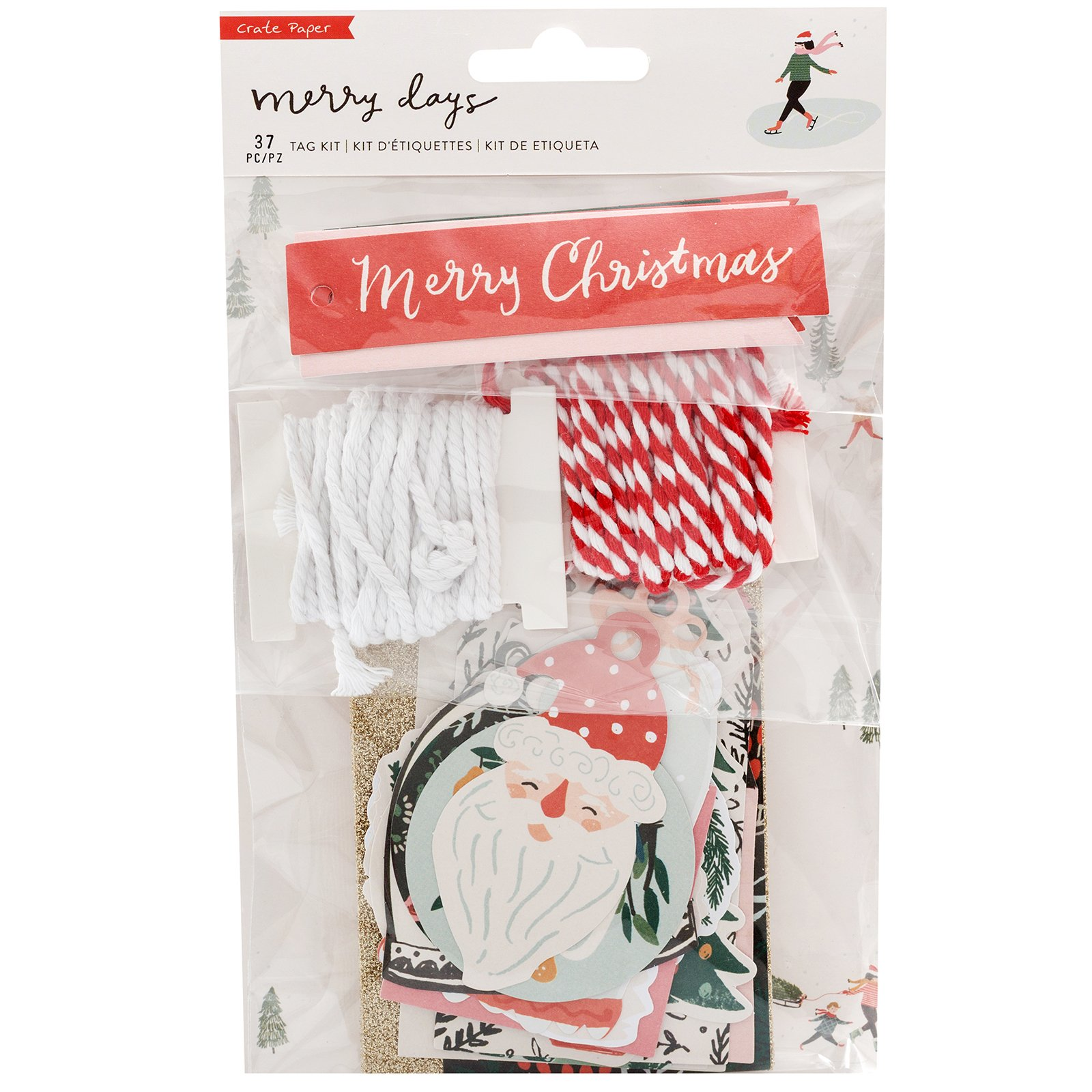 Crate Paper Merry Days Tag Kit