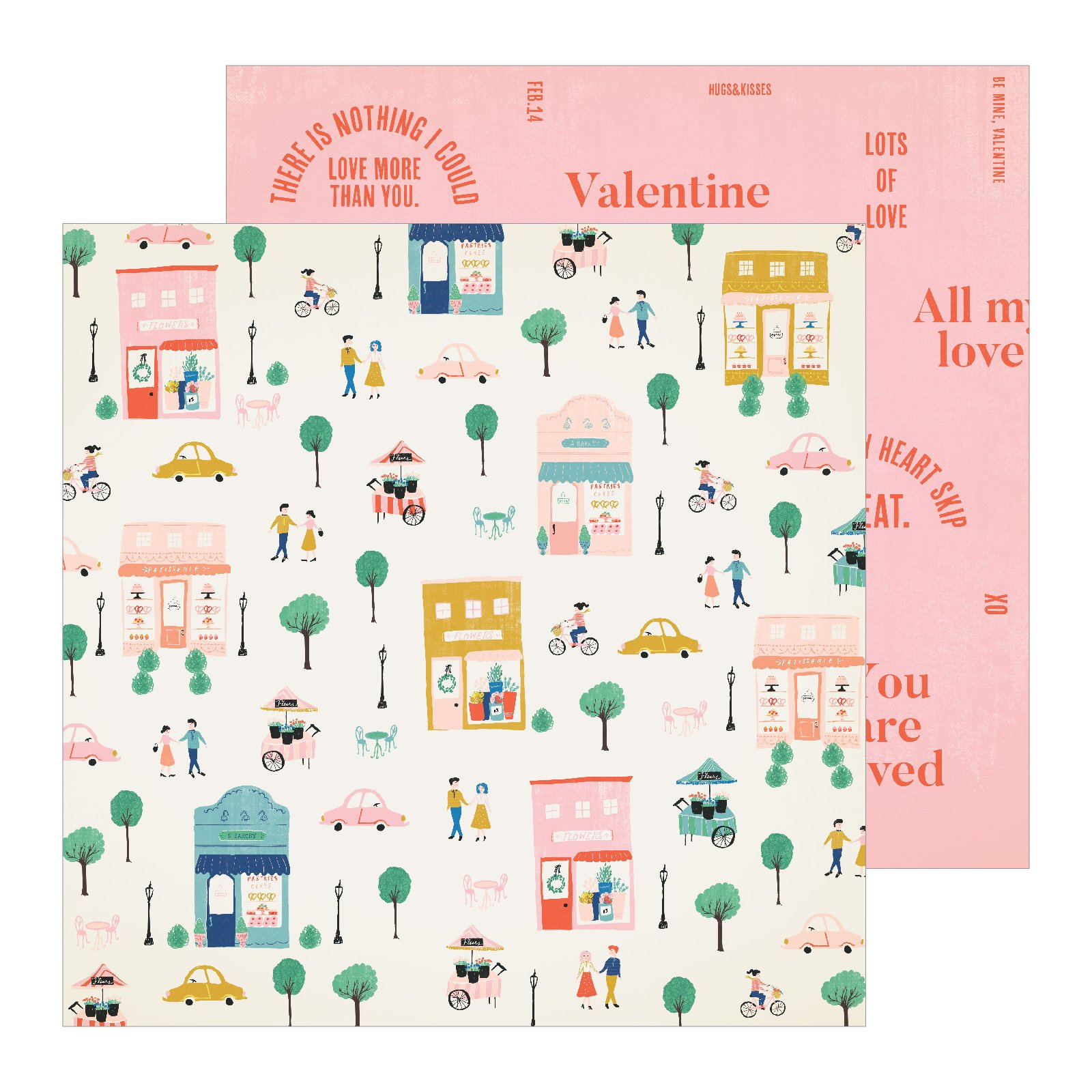 Crate Paper LaLa Love Amour