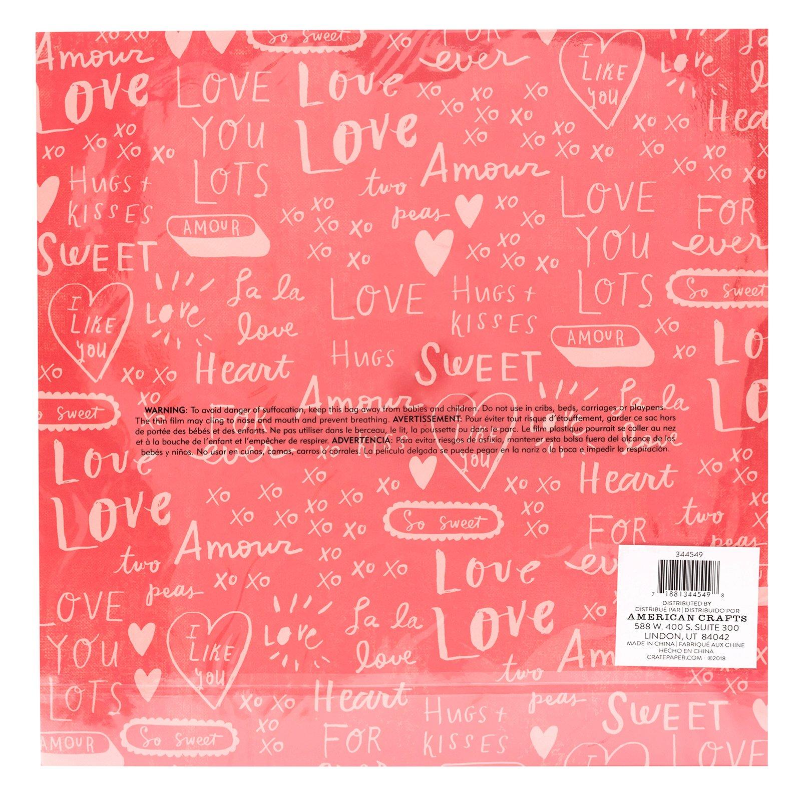 Crate Paper LaLa Love Special Paper Heartfelt