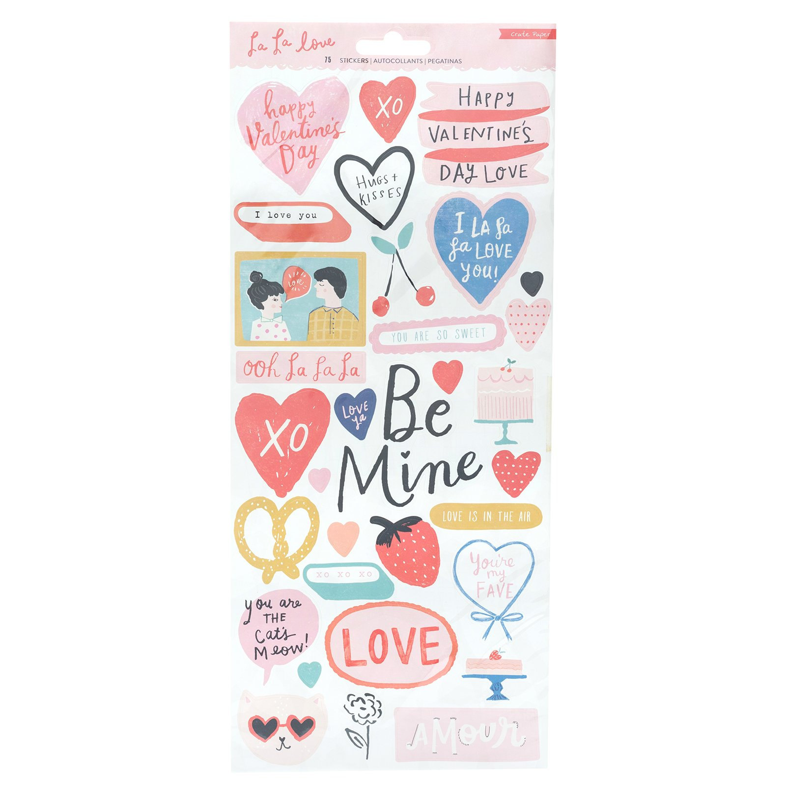 Crate Paper LaLa Love Stickers