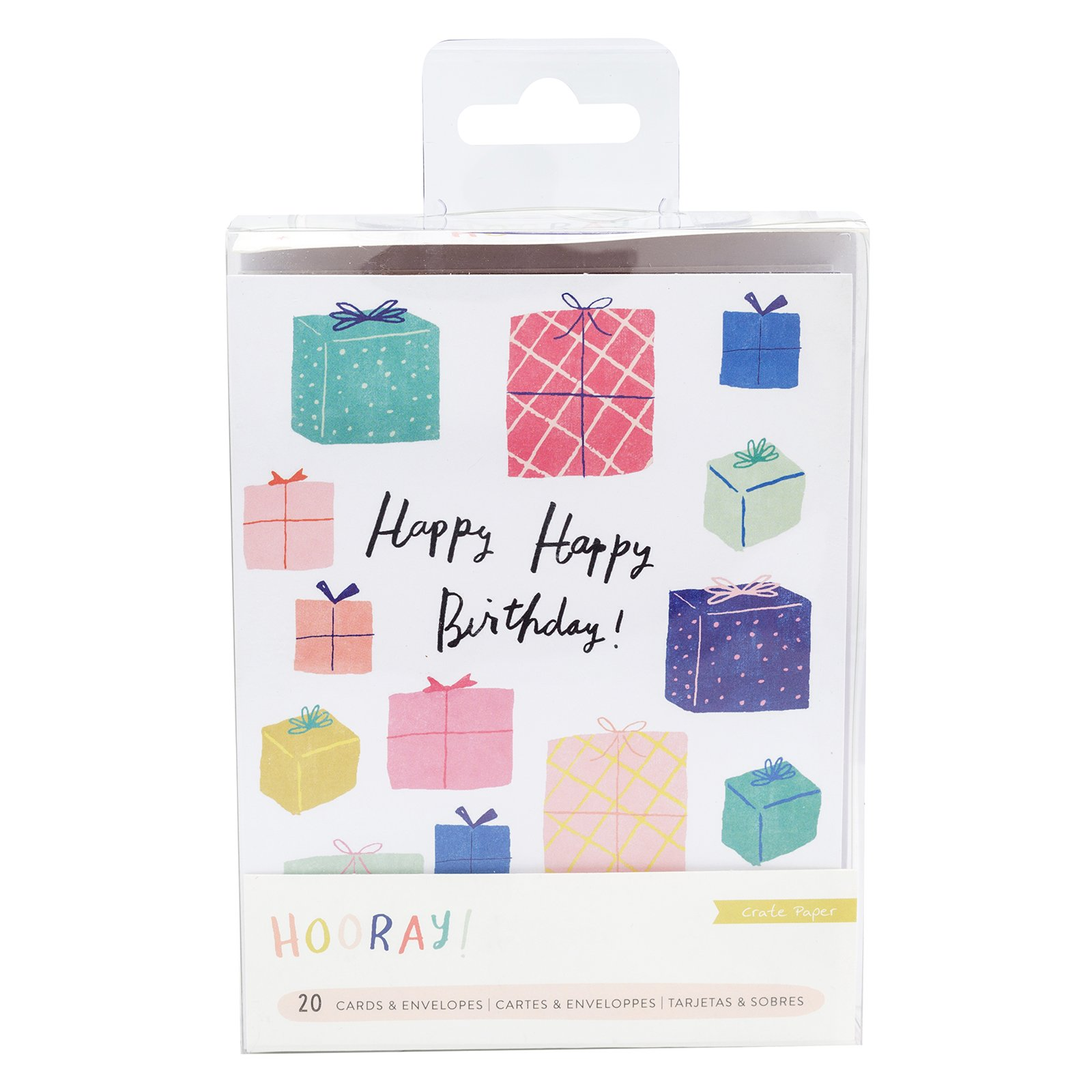 Hooray! Cards & Envelopes