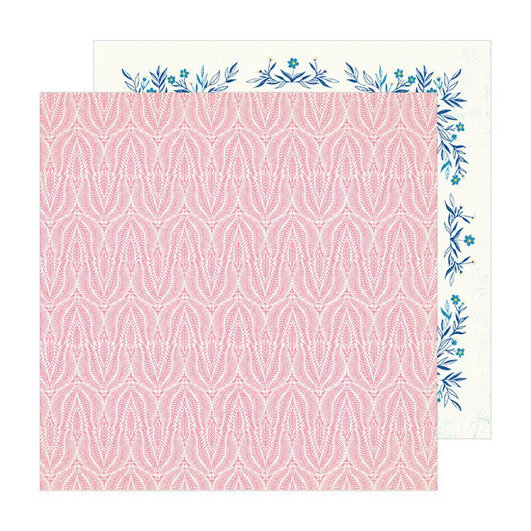 American Crafts Sunny days Coral 12x12
