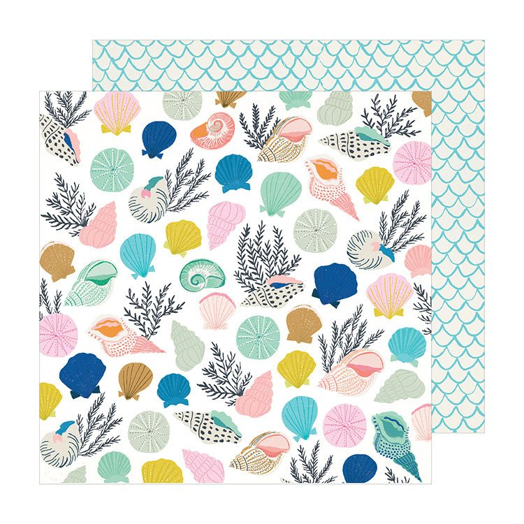 American Crafts Sunny days Collected 12x12