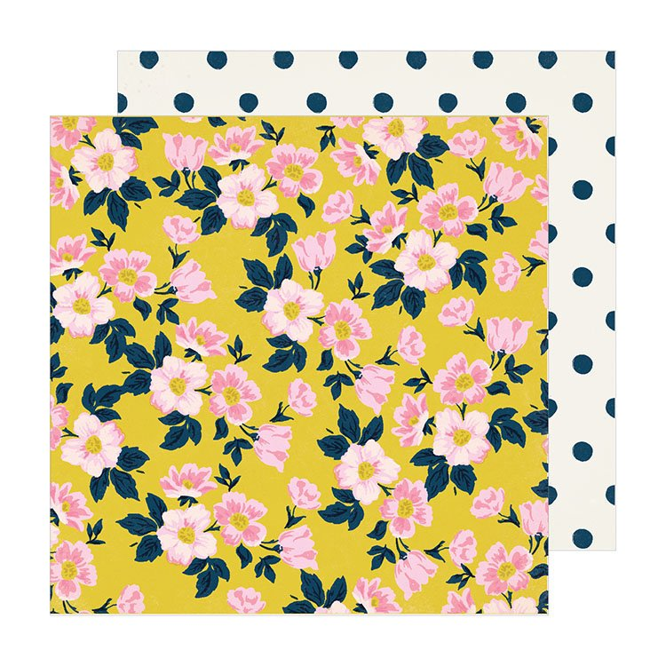 American Crafts Sunny days Apple blossom 12x12