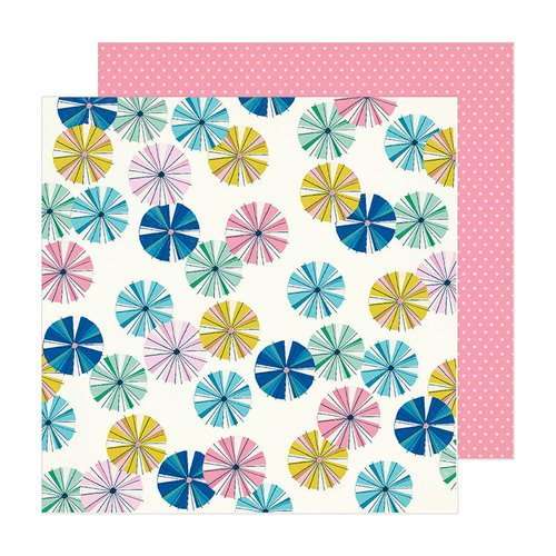 American Crafts Sunny days Parasol 12x12