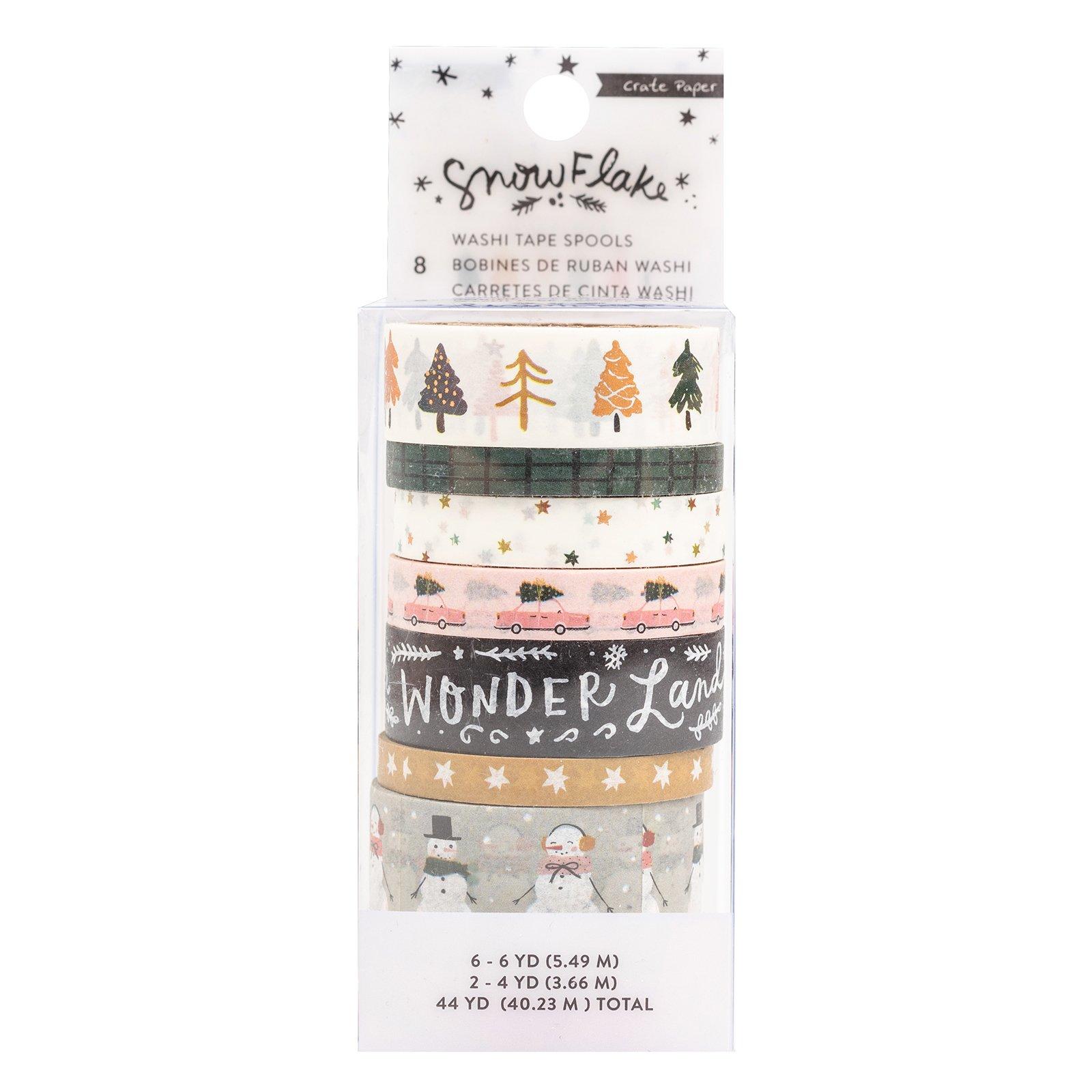 Crate Paper Snowflake Washi Tape