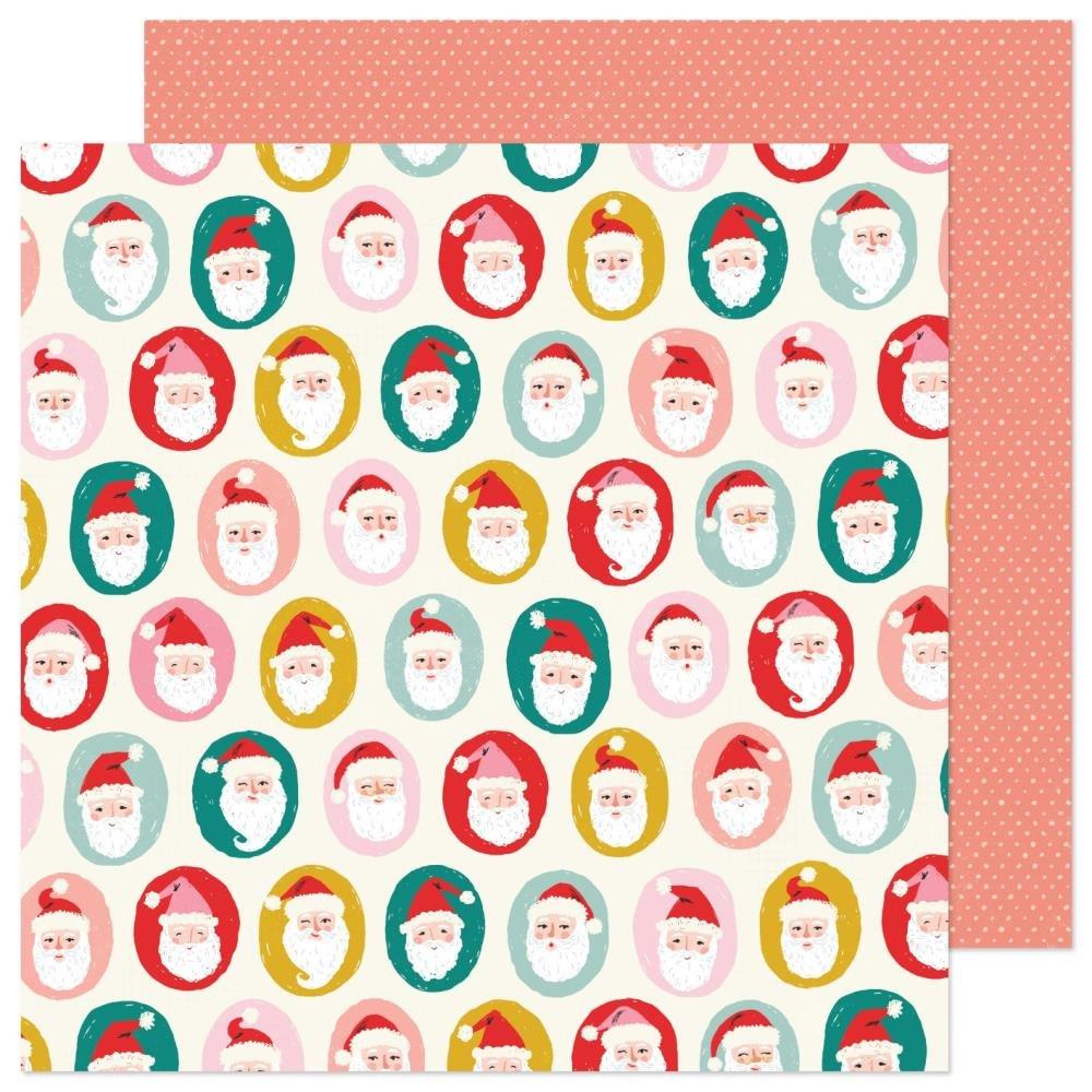 Hey Santa 12x12 Ho Ho Ho