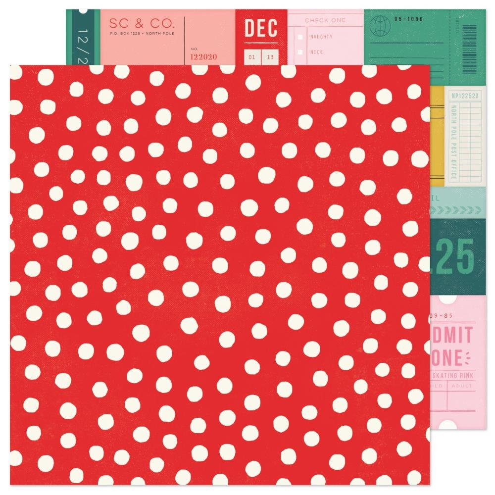 Hey Santa 12x12 Very Merry