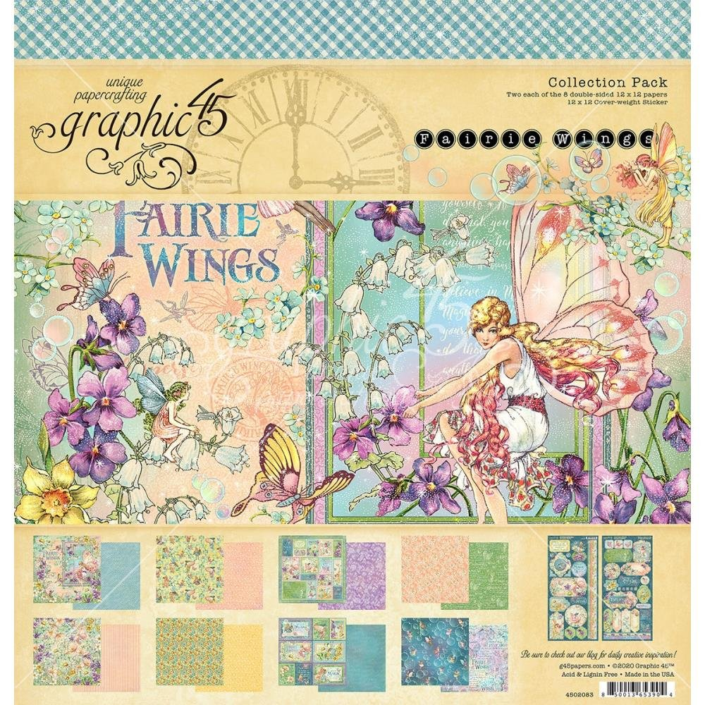 Graphic 45 Fairie Wings Collection Pack