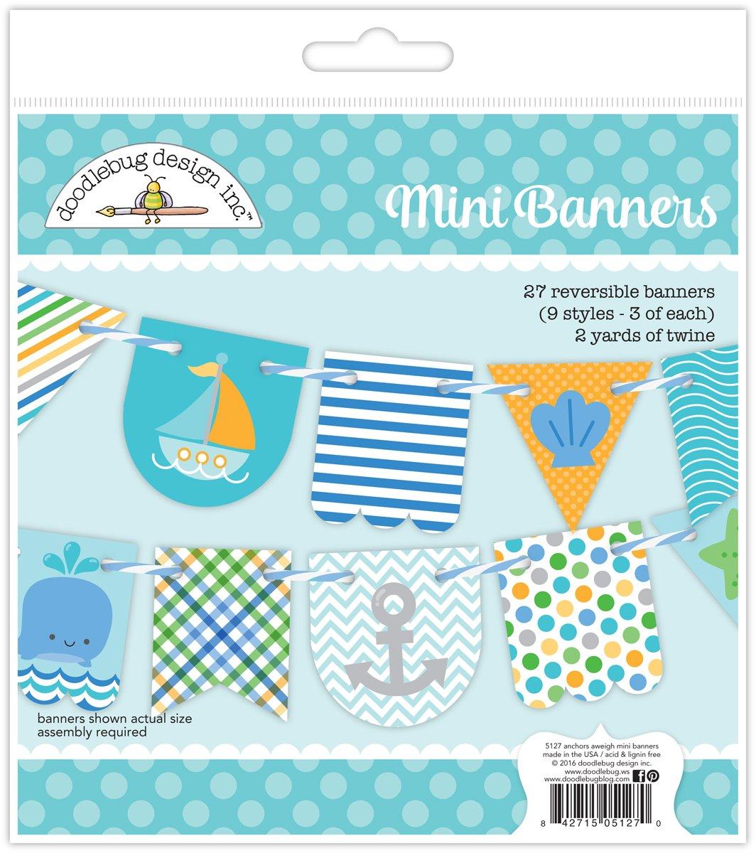 Anchors Aweigh Mini Banners