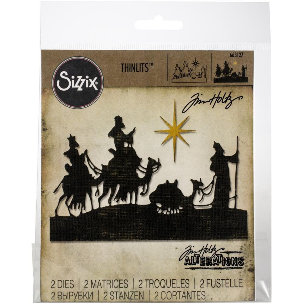 Tim Holtz for Sizzix Wise Men Die