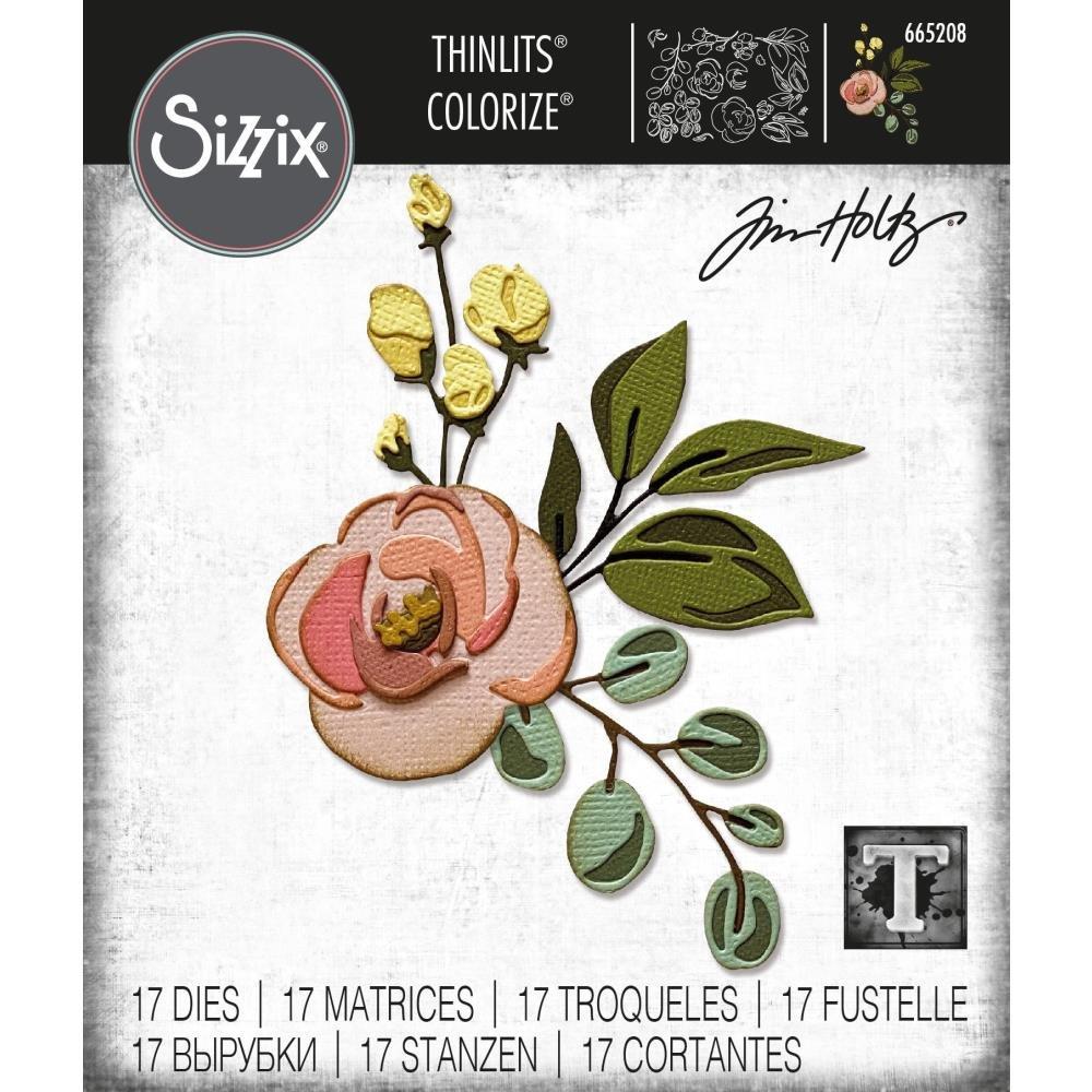 Sizzix Bloom Colorize Thinlits - Tim Holtz