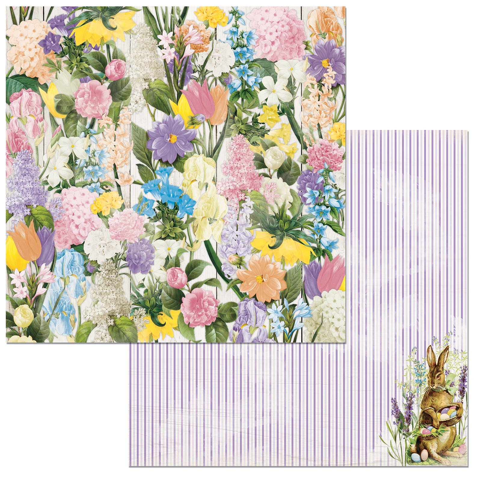 BoBunny Cottontail Flowers
