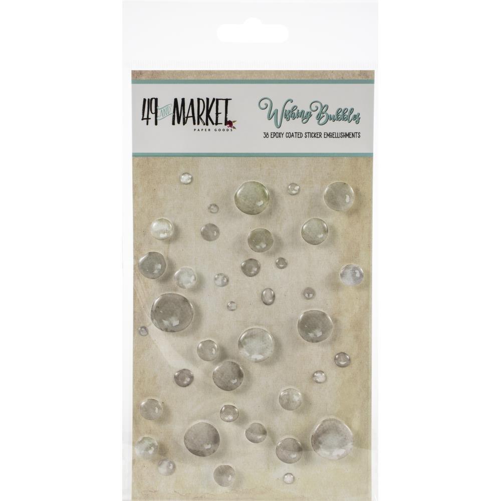 49 & Market Wishing bubbles Soda pop 36pc