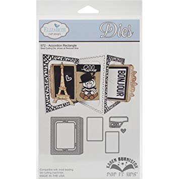 Elizabeth Crafts Accordion Rectangle Die Set