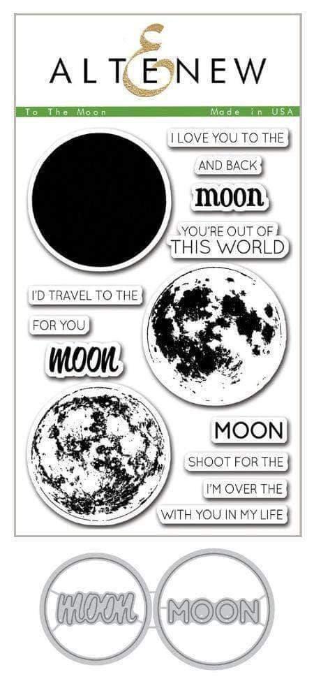 Altenew To The Moon Stamp & Die Bundle