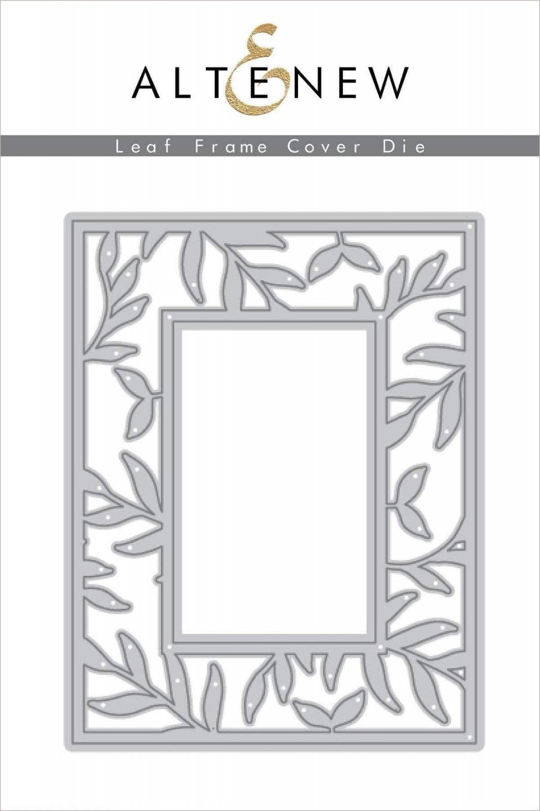 Altenew Leaf Frame Cover Plate Die