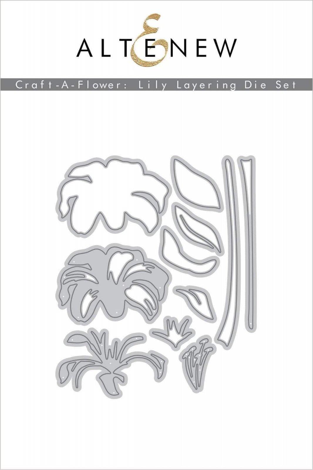 Altenew Craft-a-Flower Lily Die Set