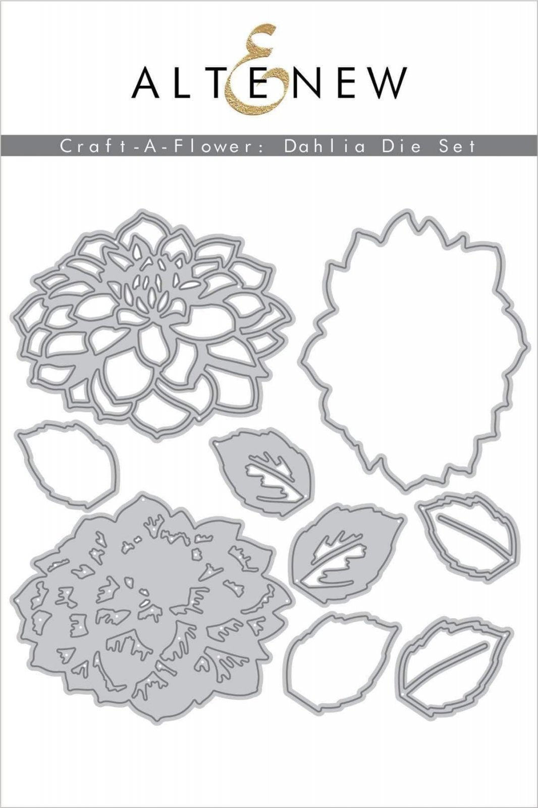 Altenew Craft-a-Flower Dahlia Die Set