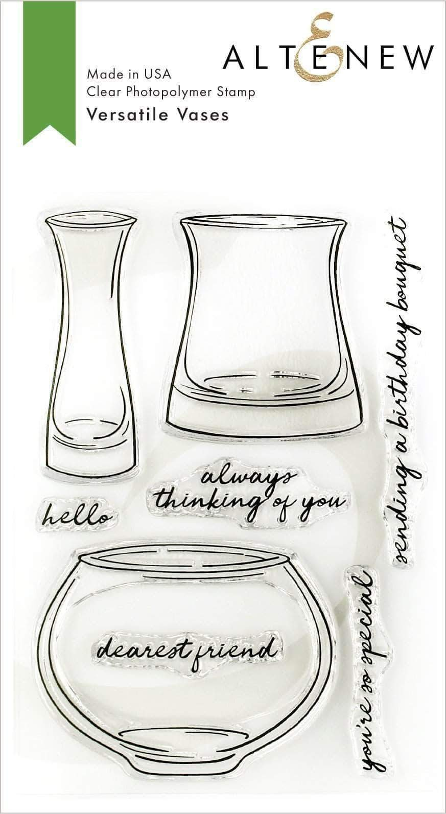Altenew Versatile Vases 2 Stamp Set