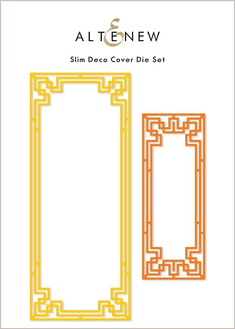 Altenew Slim Deco Cover Die Set 2pcs