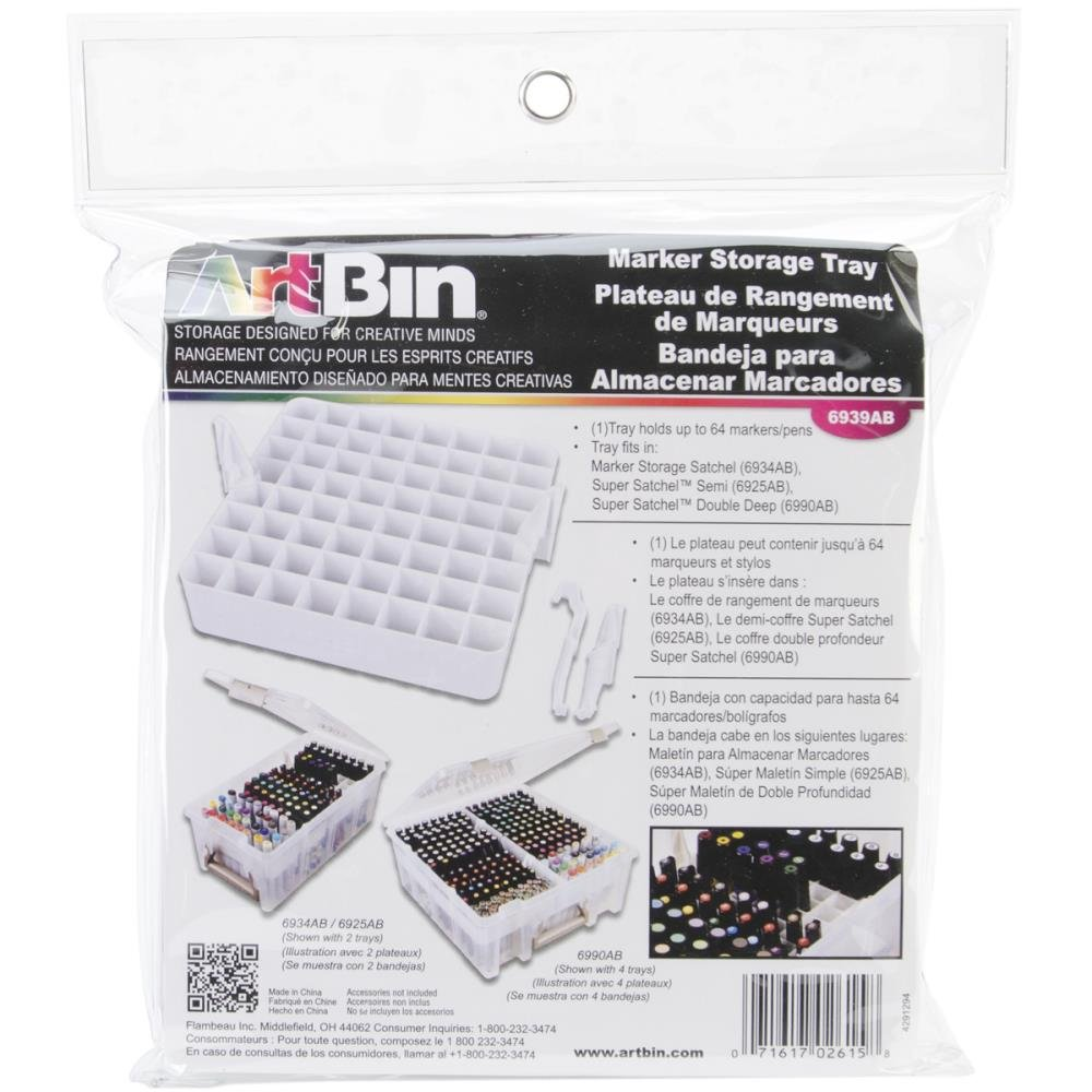 Artbin Marker Tray (holds up to 64 markers/pens)