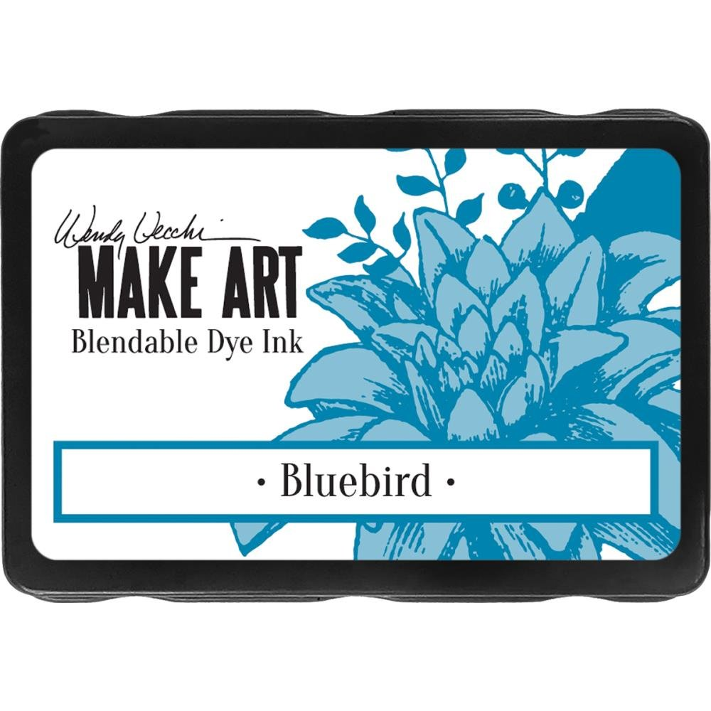 Wendy Vecchi Make Art Blendable Dye Ink Bluebird