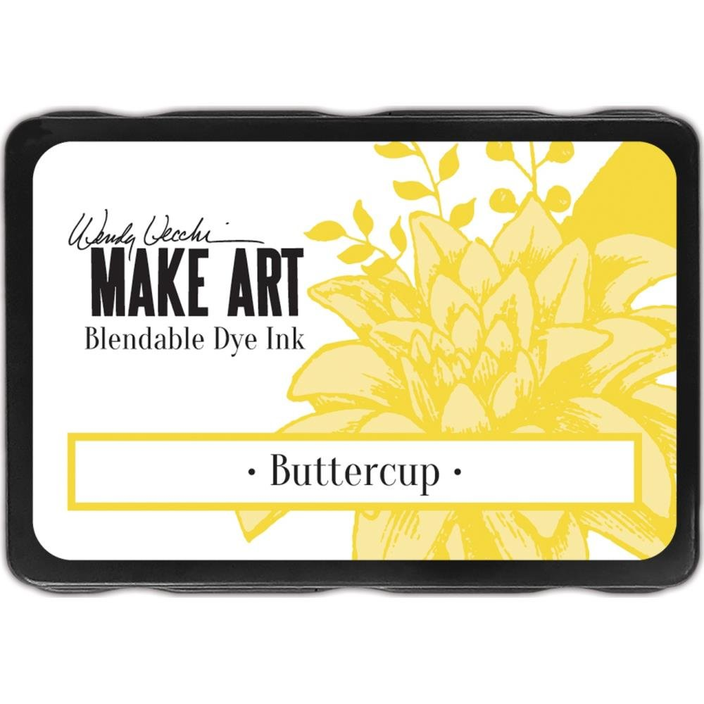 Wendy Vecchi Make Art Blendable Dye Ink Buttercup