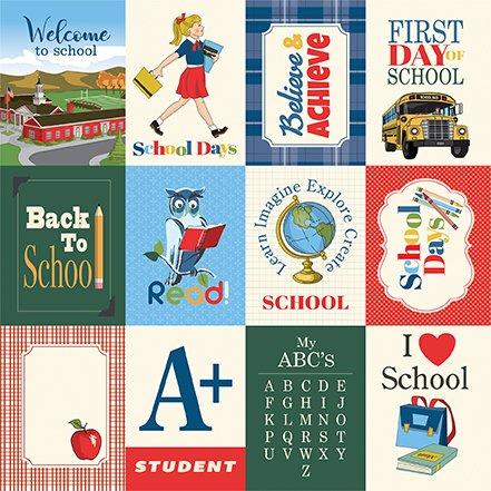 Carta Bella School Days 3x4 Journaling Cards