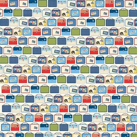 Carta Bella School Days 12x12 Lunch Boxes