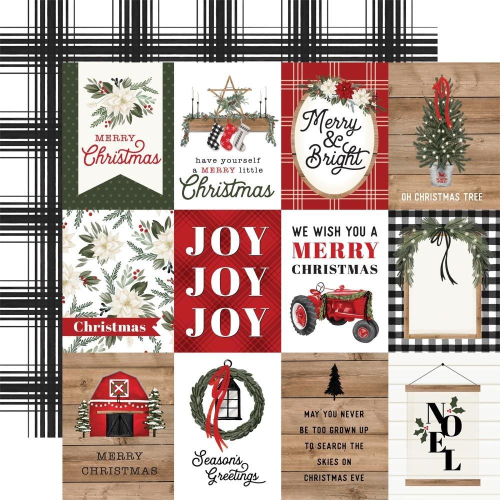 Carta Bella Farmhouse Christmas 3x4 Journaling Cards