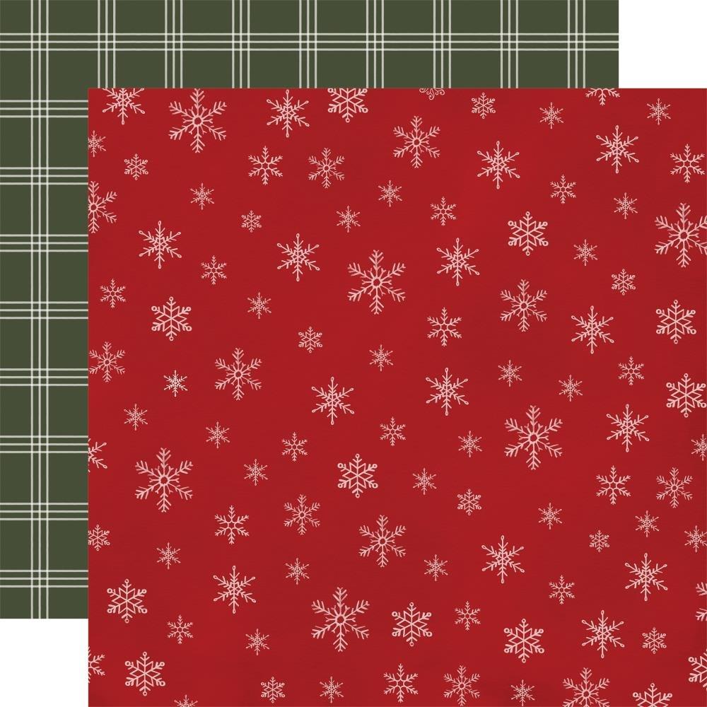 Carta Bella Farmhouse Christmas 12x12 Snowflakes