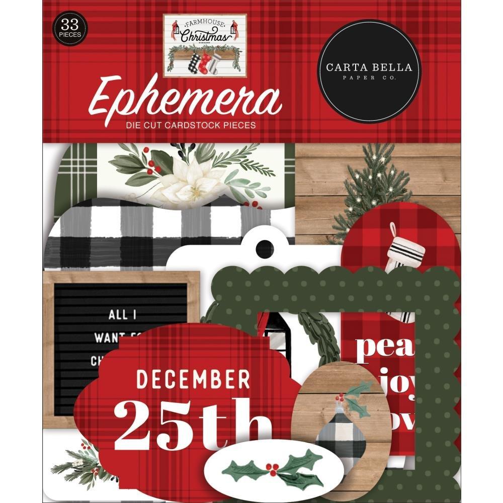 Carta Bella Farmhouse Christmas Ephemera