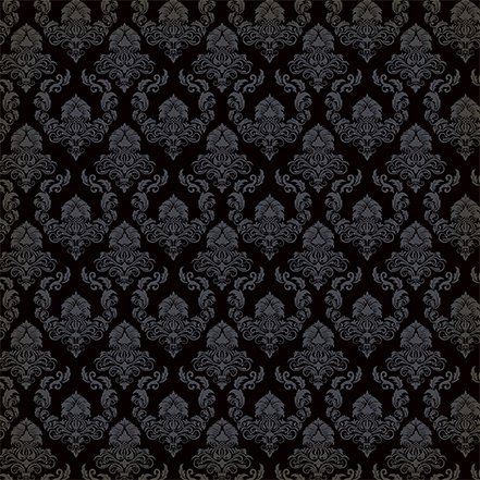 Carta Bella Happy Halloween Ghostly damask 2 sided 12x12