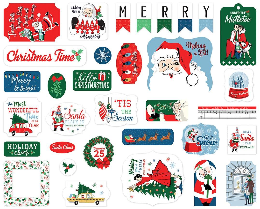 Carta Bella Merry Christmas Ephemera