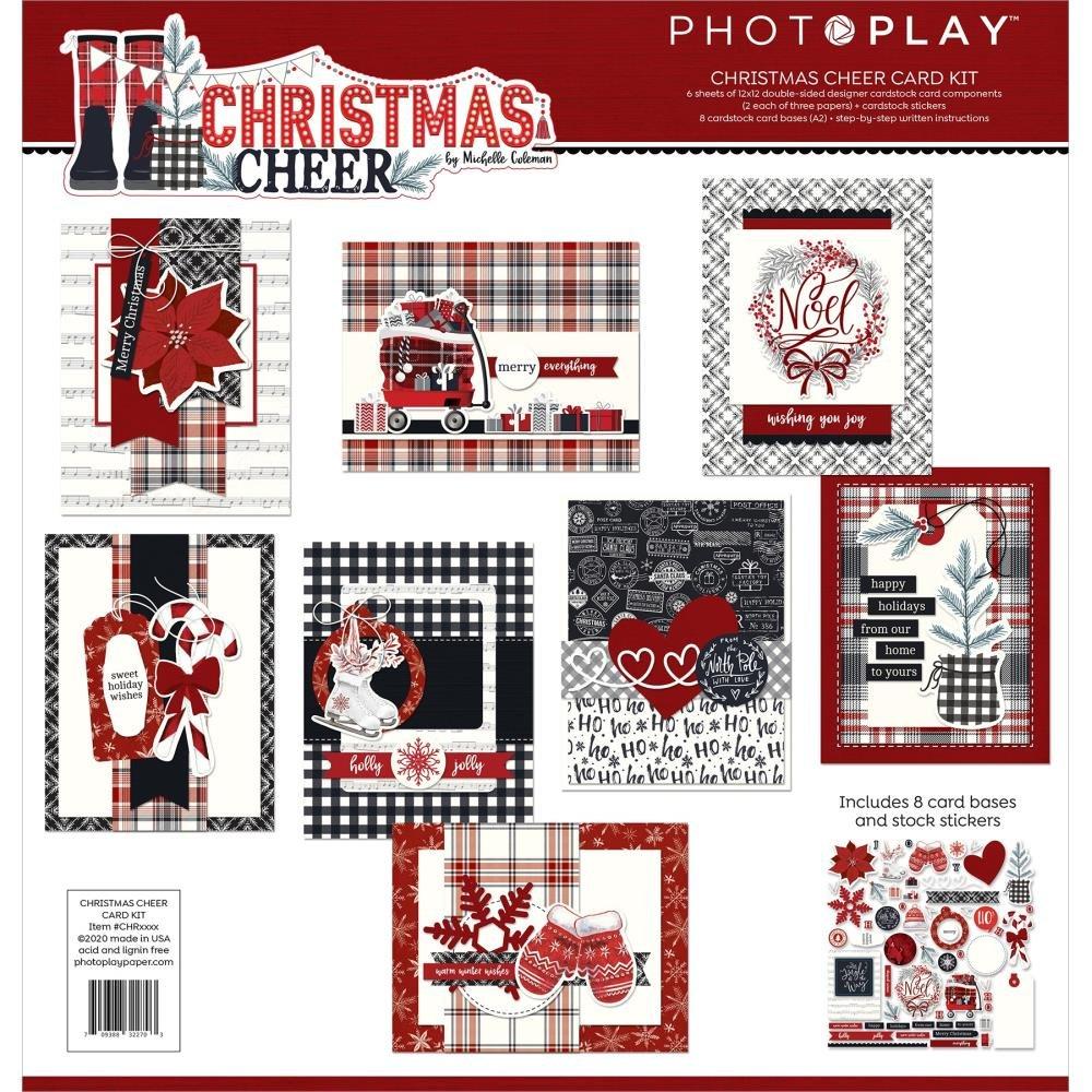 Photoplay Christmas Cheer Card Kit