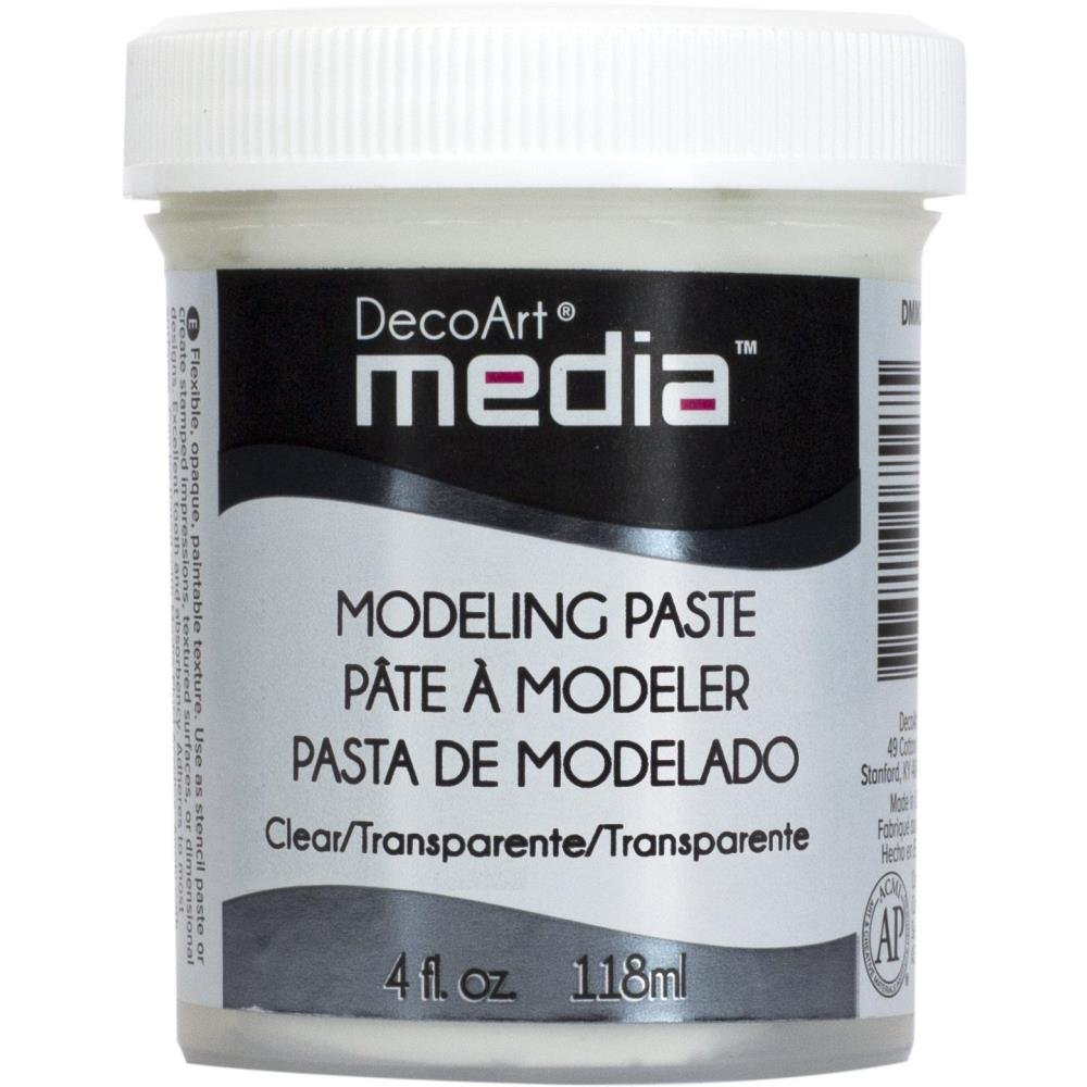 DecoArt Media Clear Modeling Paste 4oz.