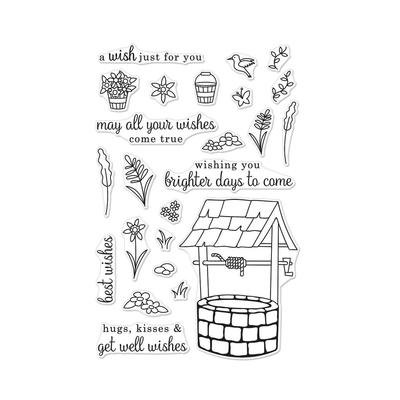 Hero Arts Wishing Well Clear stamp set