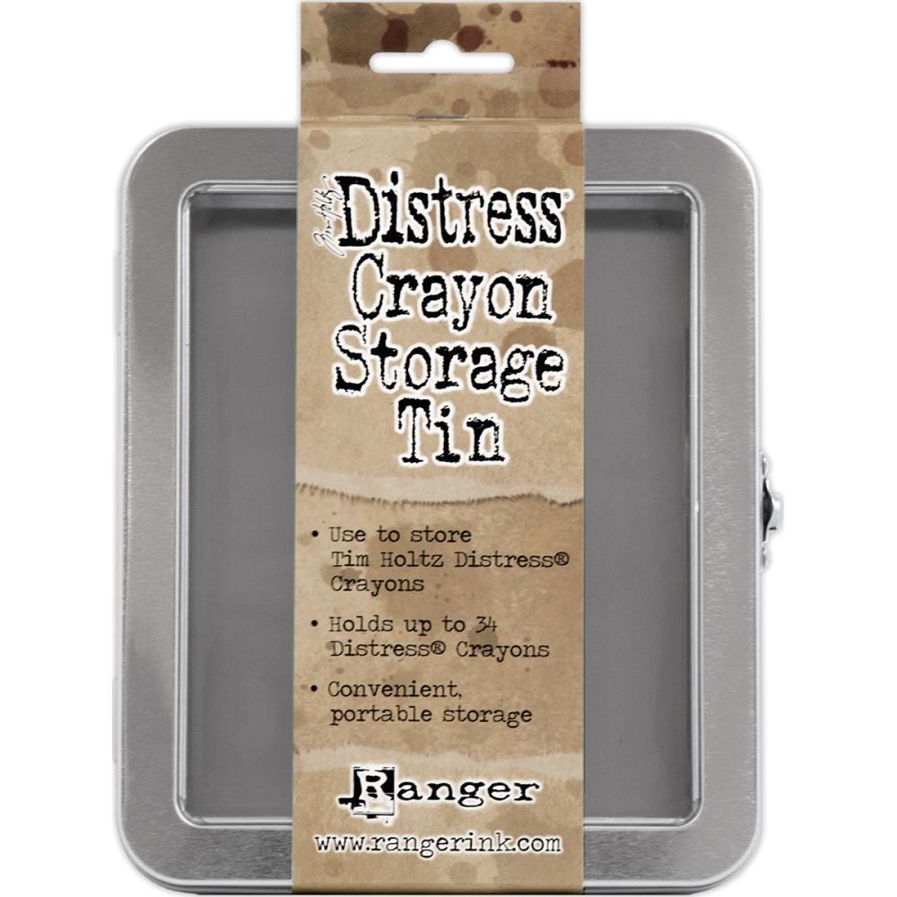 Distress Crayon Empty Storage Tin
