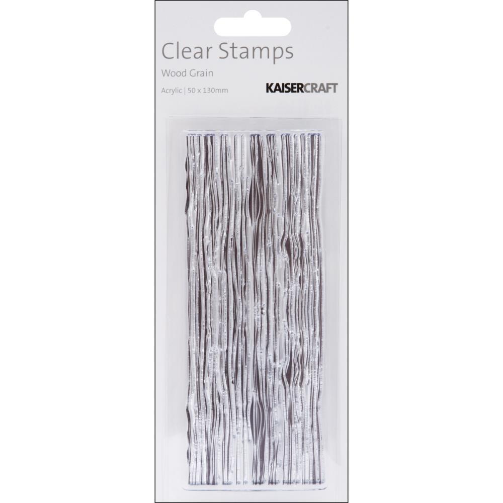 Kaisercraft Woodgrain Acrylic Stamp
