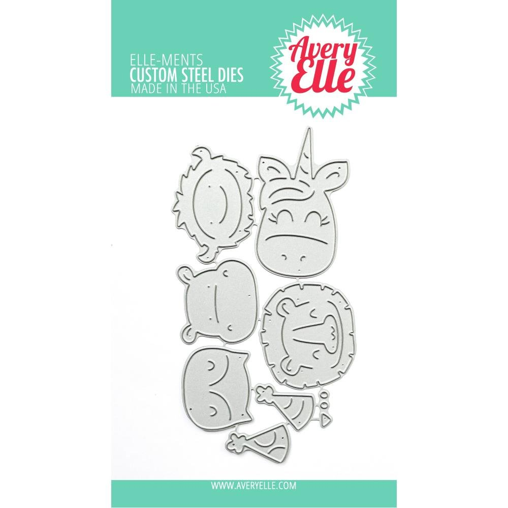 Avery Elle Peek-A-Boo Birthday Tag Topper Dies