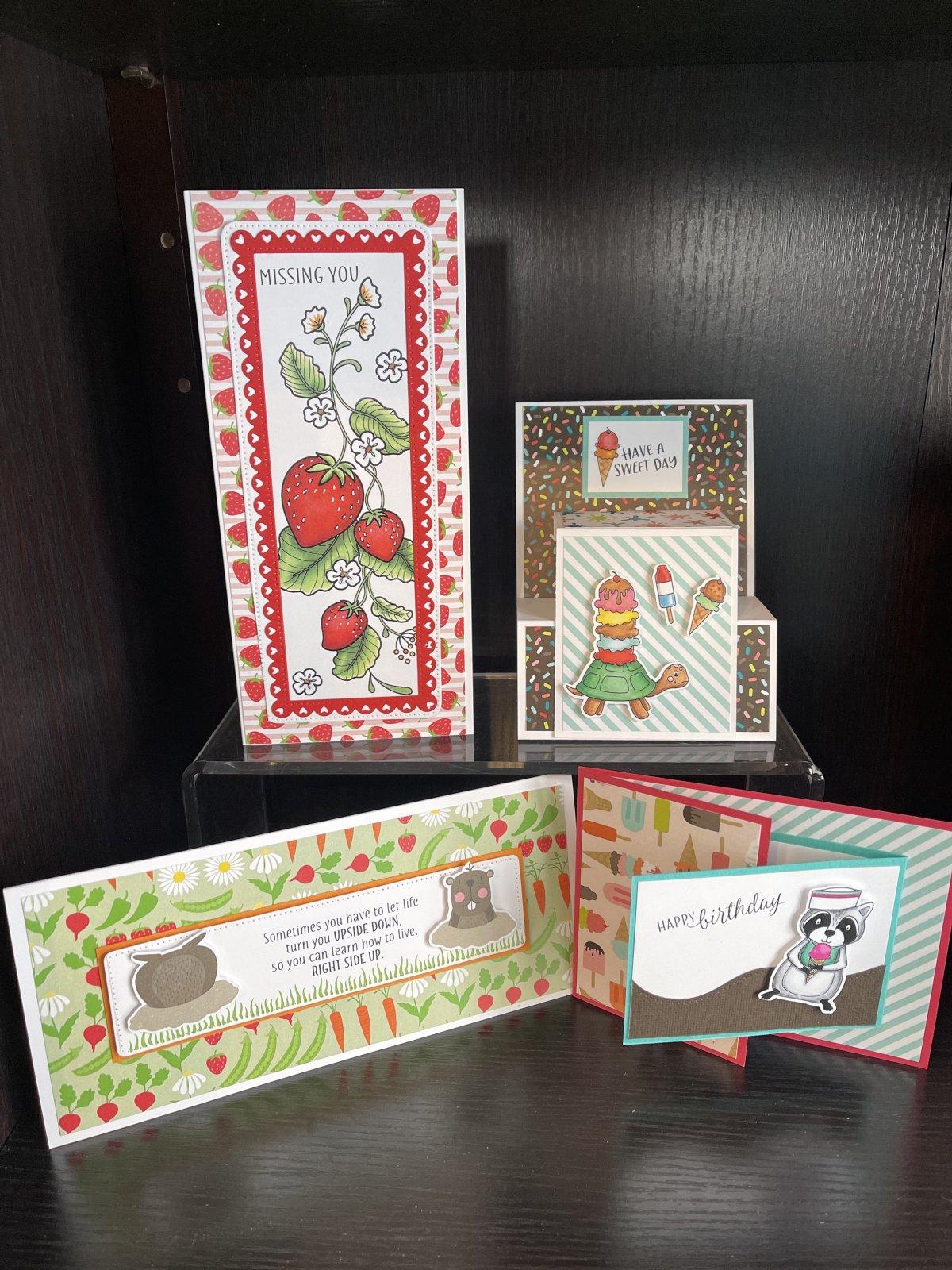 Dare 2B Artzy cards