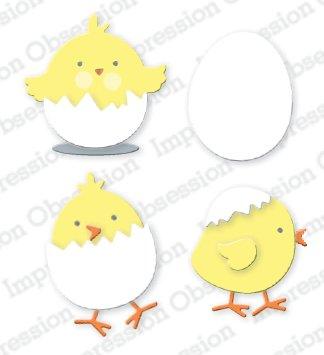 Impression Obsession Chick Die Set
